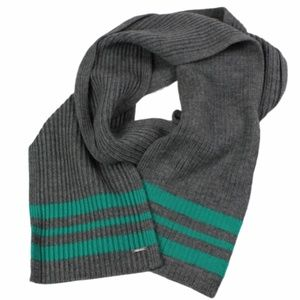 Lululemon Athletica Scarf 100% Wool Ribbed Knit Gr